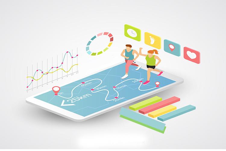 mobile app developers running