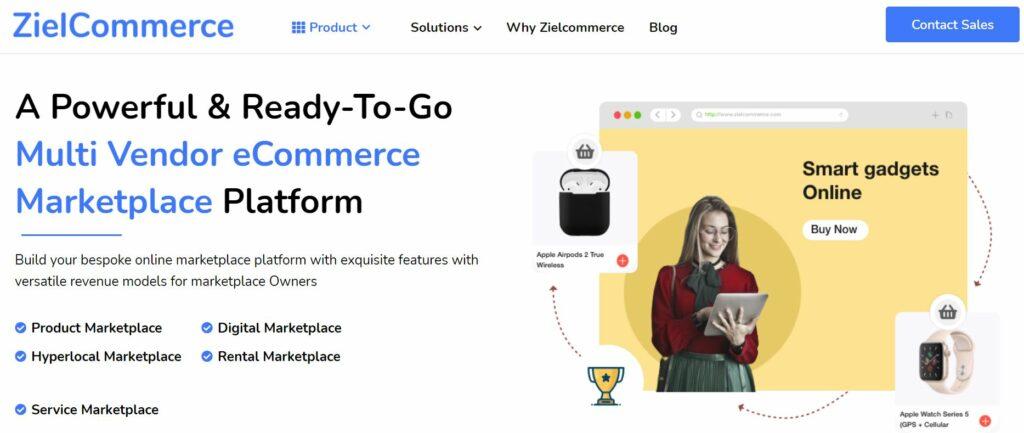 Multi-vendor eCommerce websites extensions