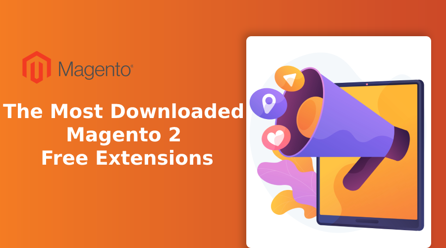 the most downloaded magento 2 free extensions