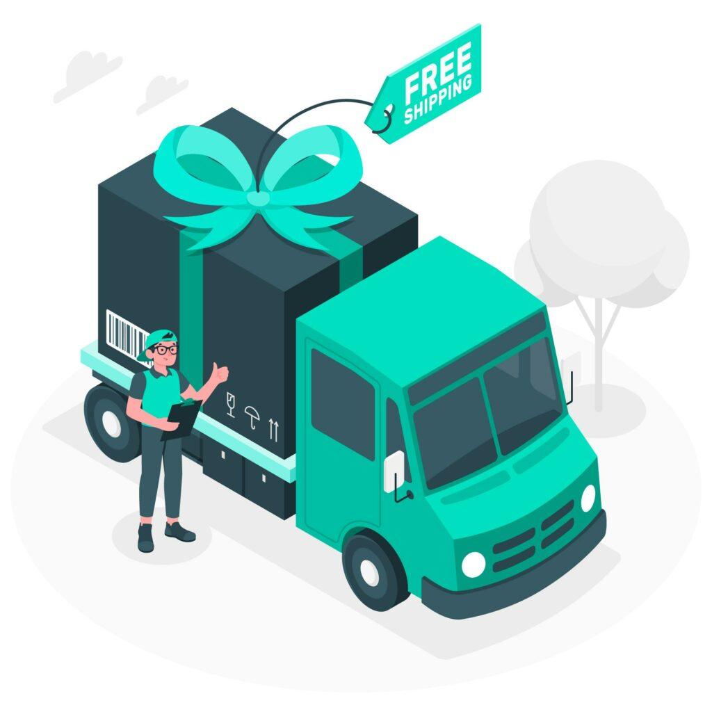 Using Free Shipping
